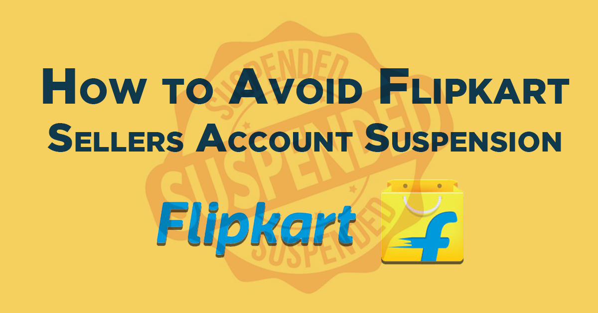 flipkart account suspension