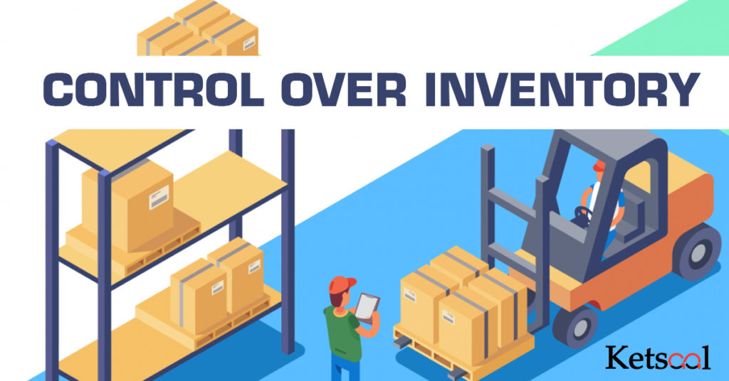 control over inventory