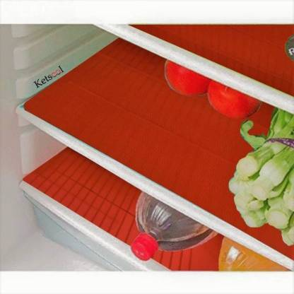 Ketsaal Fridge Mat (Red) Image