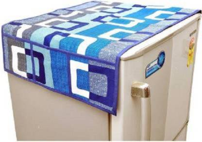 Ketsaal Refrigerator Cover (Blue) Model No- dax.FRIDGETOPCOVER Image